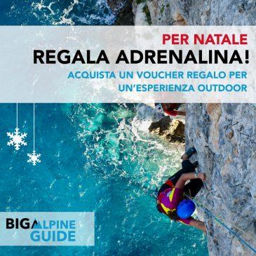 A Natale, Regala Adrenalina! Acquista un'esperienza outdoor