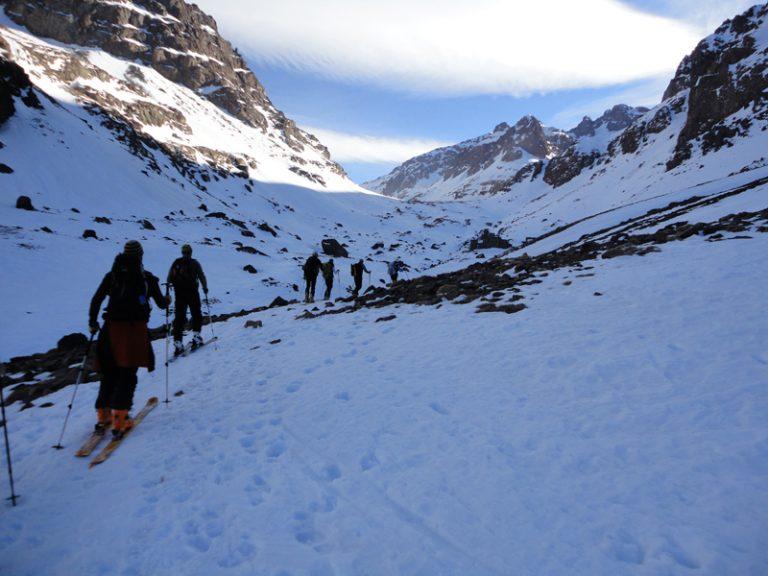 scialpinismo marocco