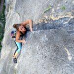 Beatriz Terradez Climbing